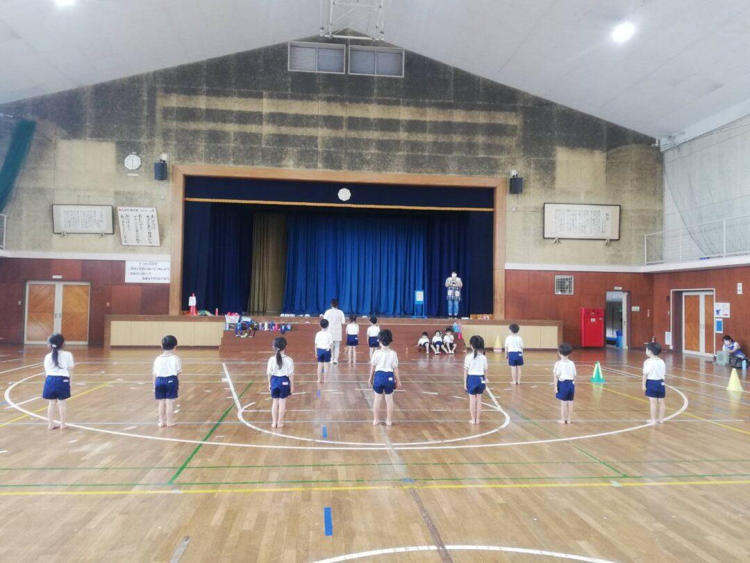 加茂小学校での運動会練習🏫🎒